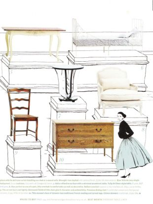 Homes and Gardens - French Furniture