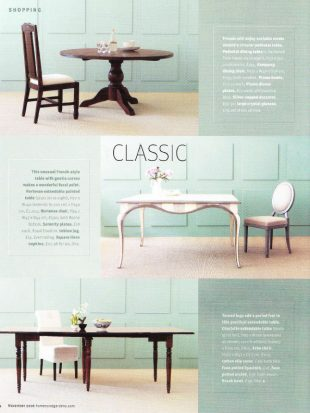 Homes and Gardens - Dining Tables